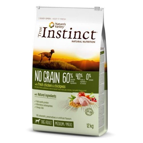 True Instinct No Grain Adult Chicken 12 Kg