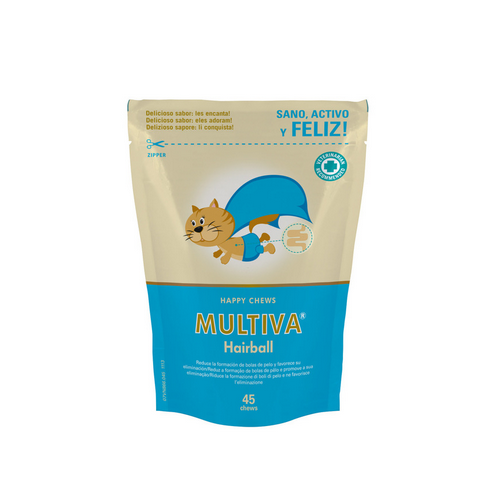 Multiva Hairball para Gato 45 chews