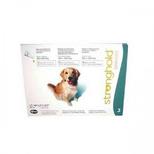 Stronghold perros de 20,1 a 40kg (3 pipetas)