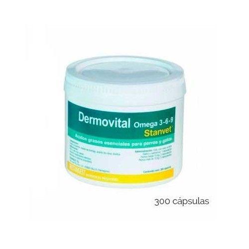 Dermovital omega 3-6-9 300 cps en blister (Caja)