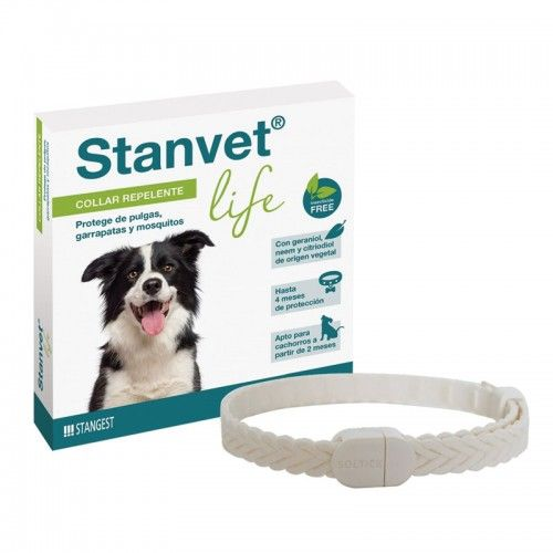 Stanvet Collar Insecticida repelente para Perro Talla Unica