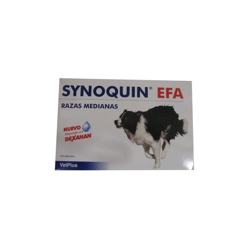 Vetplus Synoquin efa para perros medianos 120 comprimidos