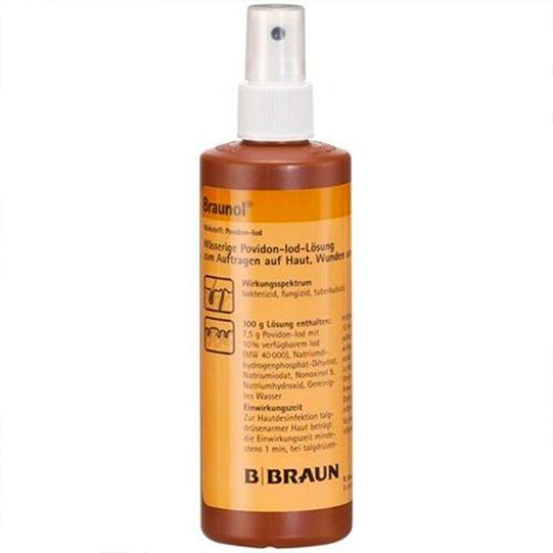 Desinfectante En Spray Braunol 250 Ml