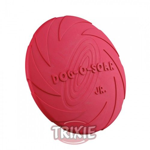 Trixie Dog Disc, Flotante, Caucho Natural, ø15 cm