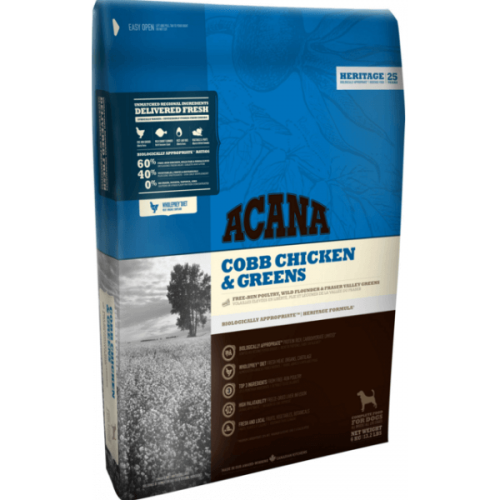 Acana Heritage Cobb Chicken & Greens 11,4 kg