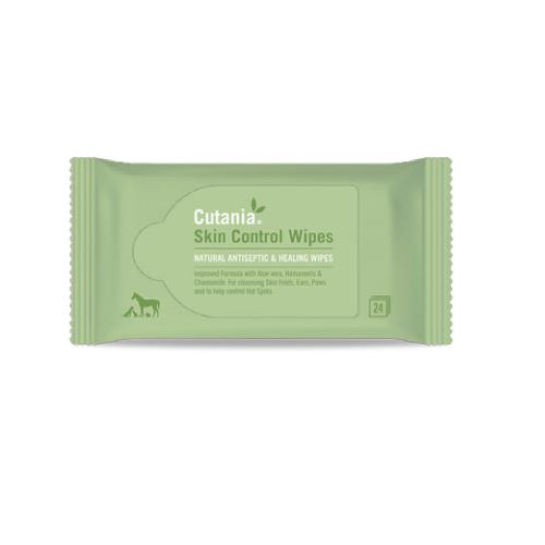 Vetnova Cutania Skin Control Wipes 24 toallitas
