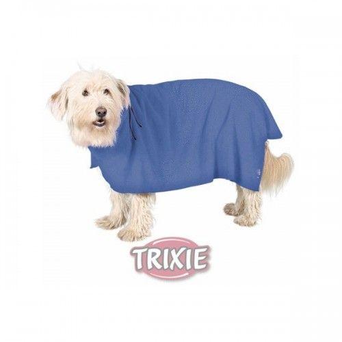 Trixie Albornoz perros, m, microfibra, 50 cm, azul