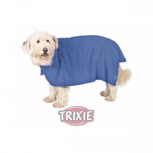 Trixie Albornoz perros, l, microfibra, 60 cm, azul