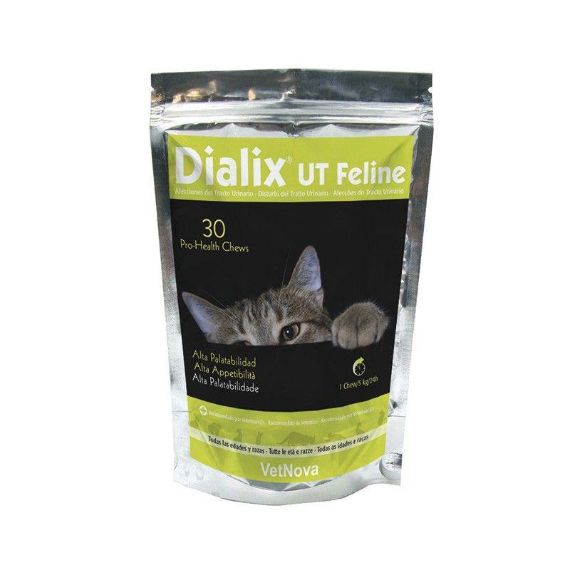 Dialix-UT Feline. Para El Manejo De Las Afecciones Tracto Urinario Gatos