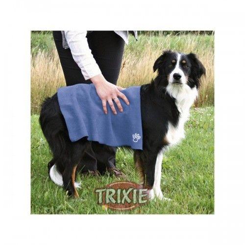 Trixie Toalla extra secado, 50×60cm, azul