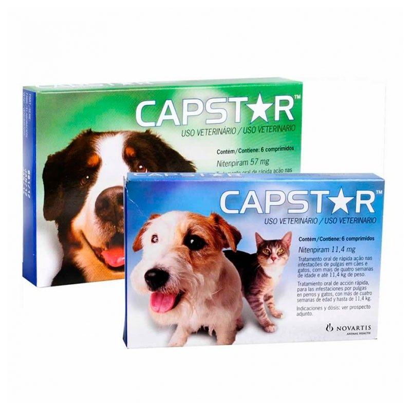 Novartis Capstar 11,45 mg perros pequeños y gatos 6 comprimidos