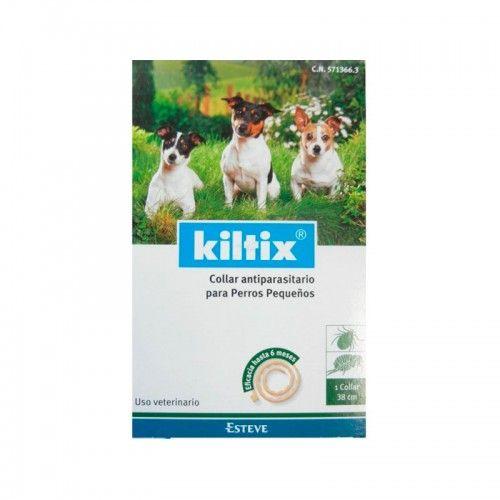 Ecuphar Kiltix collar antiparasitario perros pequeños 38 cm