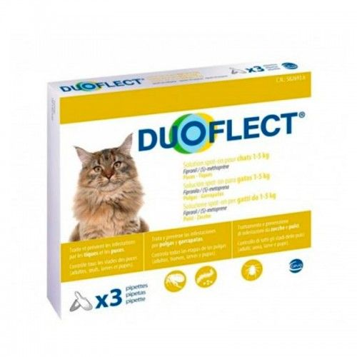 Ceva Duoflect Gatos 1-5 Kg 3 Pipetas