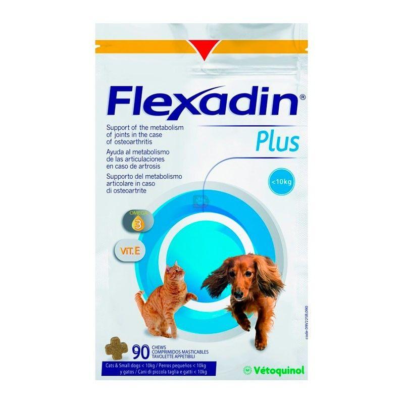 Vetoquinol Flexadin plus mini para perros pea pequeños y gatos 90 comprimidos