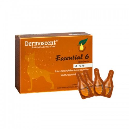 Merial Dermoscent essential perro 1-10kg 4 pipetas