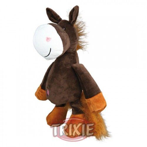 Caballo, Sonido animal original, Peluche, 30 cm