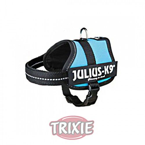 Trixie Arnés Julius-K9 IDC, Baby 2/XS–S:33–45cm, Aguamar