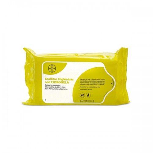 Bayer Sano y bello toallitas limpiadoras cidronela 36 toallitas