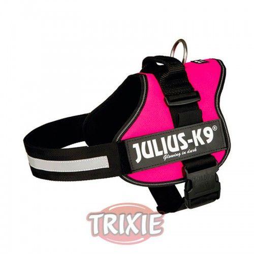 Trixie Arnés Julius-K9 IDC, Baby 2/XS–S:33–45cm, Fucsia