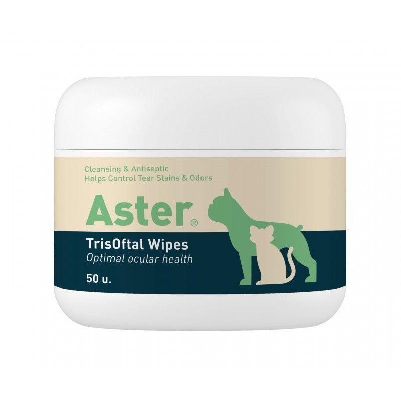 Vetnova ASTER® TrisOftal Wipes 50