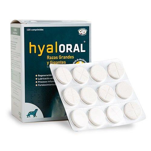 Farmadiet Hyaloral para perros de razas grandes y gigantes 60 comprimidos en blister