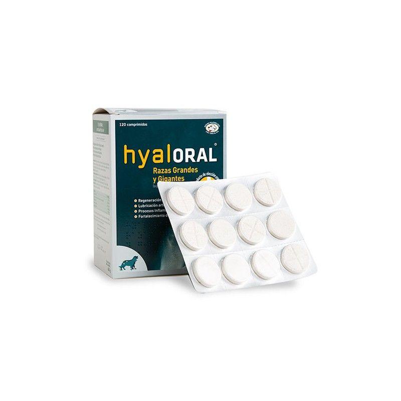 Farmadiet Hyaloral para perros de razas grandes y gigantes 60 comprimidos