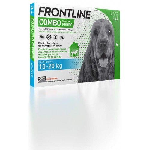 Merial Frontline combo spot on perros 10-20 kg 6 pipetas