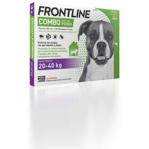 Merial Frontline combo spot on perros 20-40 kg 6 pipetas