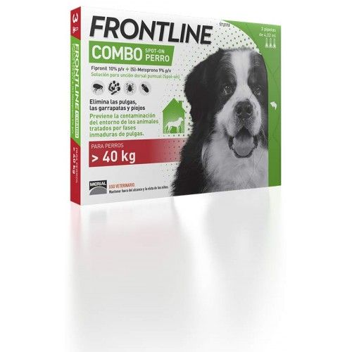 Merial Frontline combo spot on perros 40-60 kg 6 pipetas