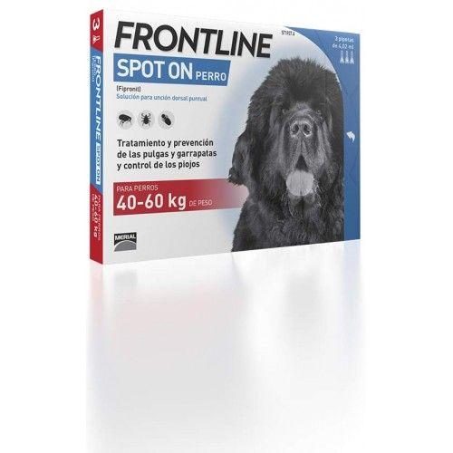 Merial Frontline spot on 40 a 60 kg 3 pipeta