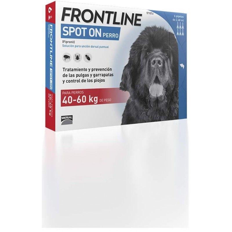Merial Frontline spot on 40 a 60 kg 6 pipeta