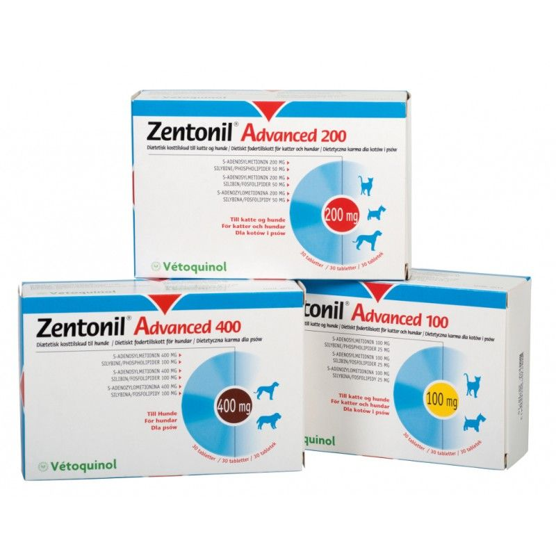 Vetoquinol Zentonil advanced 200 mg 30 comprimidos