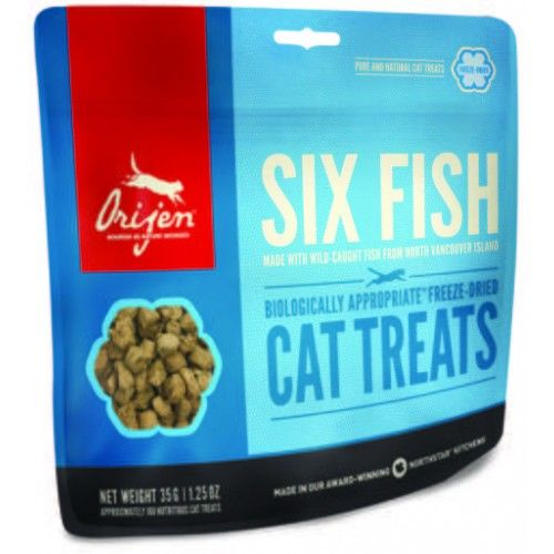 Orijen Cat Treat Six Fish 35 gr