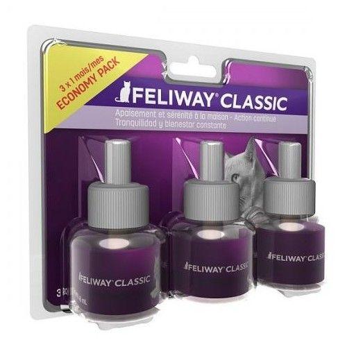Ceva Feliway Recambio Classic 3x48 ml