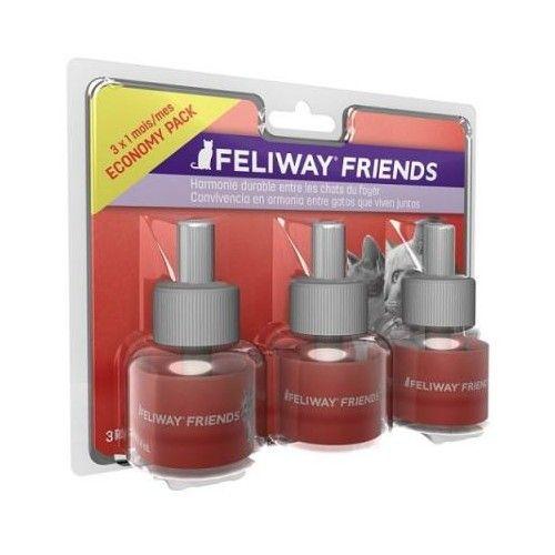 Ceva Feliway Friends Recambio 3x48 ml