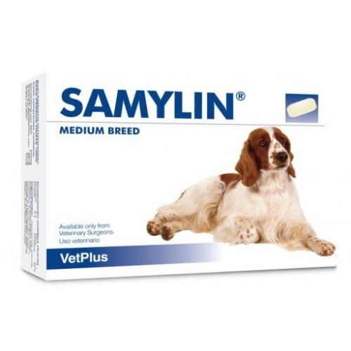 Vetplus Samylin razas medianas 30 comprimidos