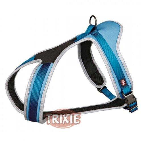 Trixie Arnés Confort Experience, M, 45-70cm/20mm, Azul