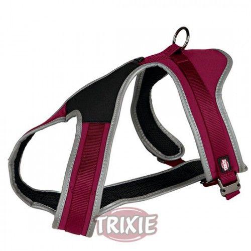 Trixie Arnés Confort Experience, M, 45-70cm/20mm, Rojo