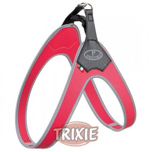 Trixie Arnés Pratiko, M, 60 cm, Rojo