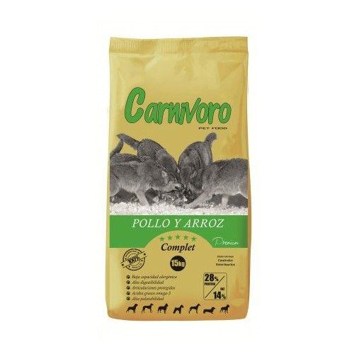 Pienso Carnivoro Complet Pollo y Arroz 15 Kg