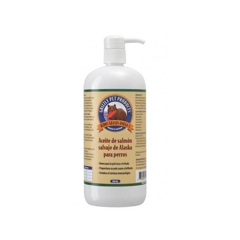 Aceite de Salmón Grizzly Complemento Nutricional