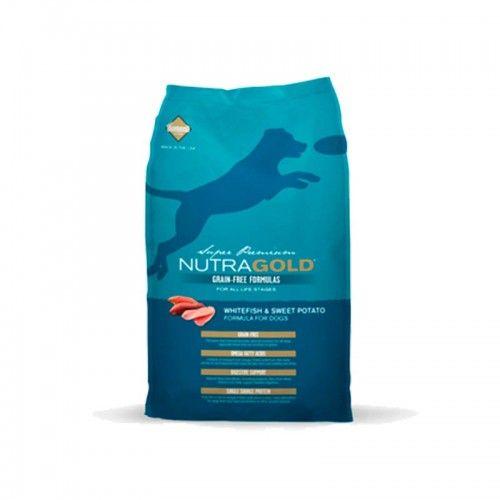 Nutra Gold Pienso Perro Pescado Blanco Y Patata 2,3 kg