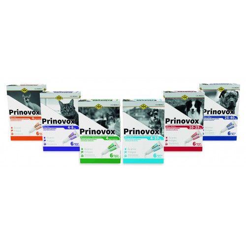Fatro Prinovox Gatos de 4-8 Kg 6 Pipetas