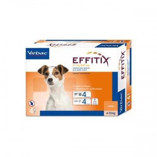 Virbac Effitix perro 4-10kg...