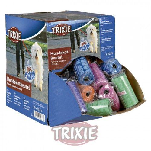 Trixie 1 Bolsa de plástico para excrementos colores surtidos
