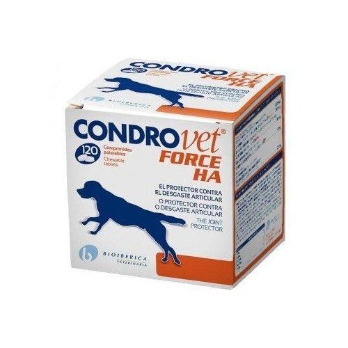 Bioiberica Condrovet Force HA 120 Comprimidos