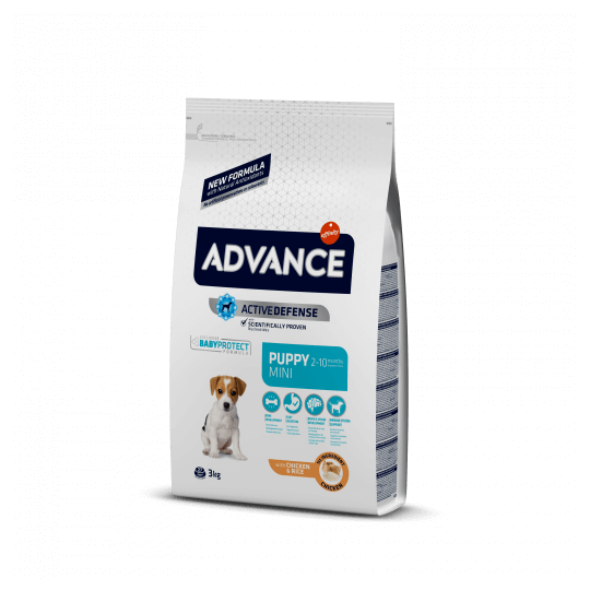 Advance puppy protect mini pollo y arroz 800 Gramos