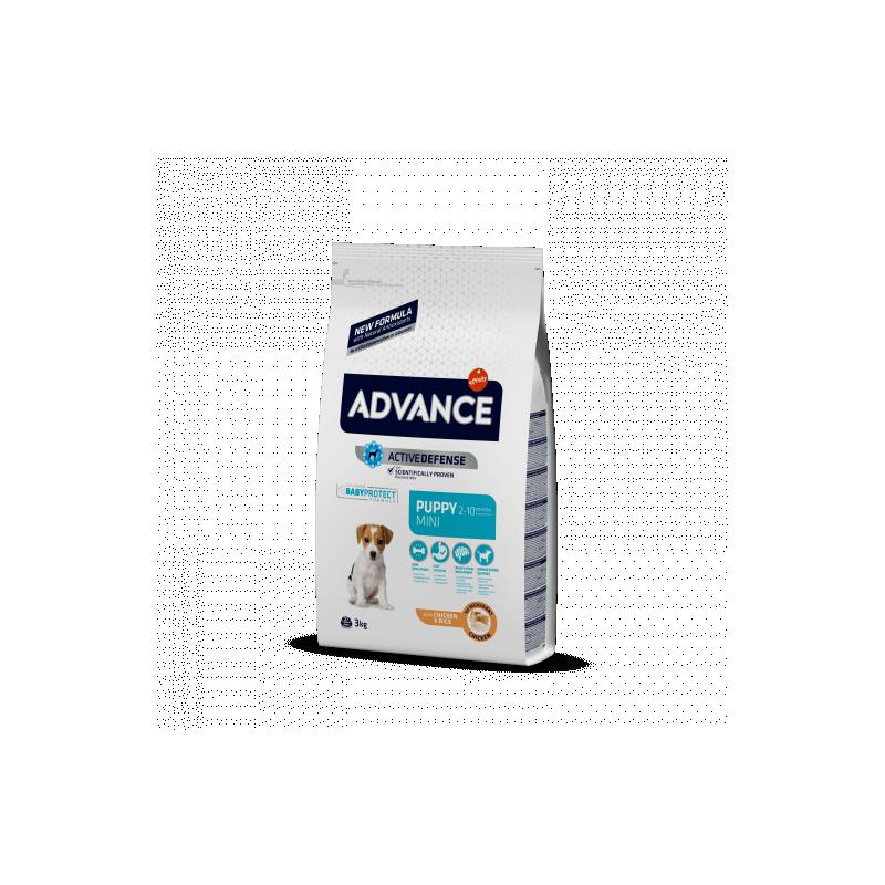 Advance puppy protect mini pollo y arroz 800 Gramos