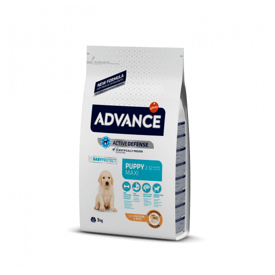 Advance puppy protect maxi pollo y arroz 12 Kg