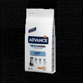 Advance adult maxi light pollo y arroz 14 Kg
